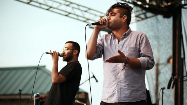 Das Racist performs at the 2011 Sasquatch Music Festival.