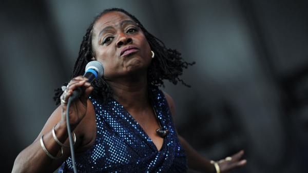Sharon Jones performs at the 2011 Sasquatch Music Festival.