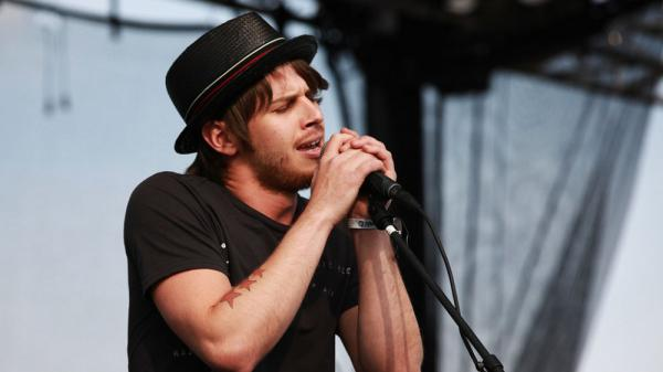 Mark Foster of Foster the People performs live at the 2011 Sasquatch Music Festival.