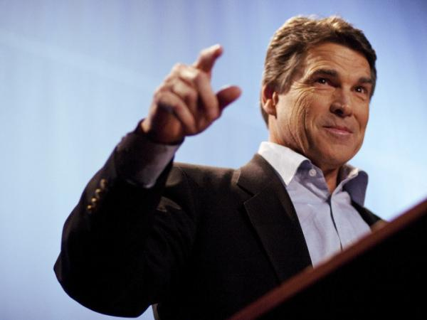 Texas Gov. Rick Perry (R) last November.