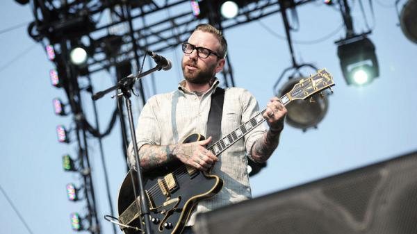 Dallas Green of City and Colour performs at Sasquatch Music Festival 2011.