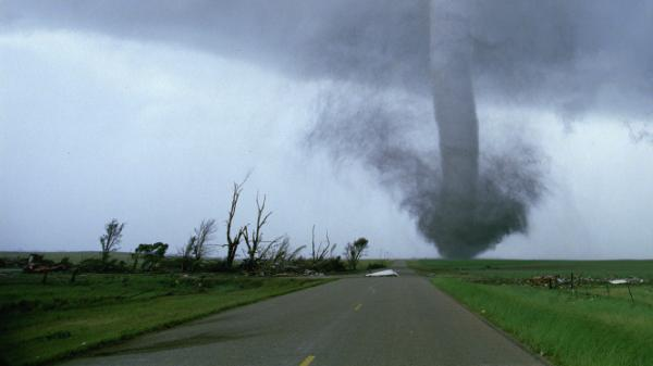 A tornado touches down in Sean Casey's IMAX film, <em>Tornado Alley</em>.