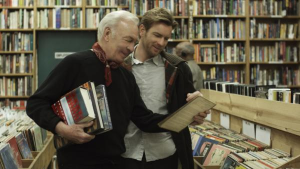 "Academy Award nominee Christopher Plummer (left) and Ewan McGregor star as father and son in Mike Mills' <em>Beginners. </em>David Edelstein says McGregor gives a ""remarkably centered performance"" as Oliver, a commercial illustrator who is now dealing with mixed emotions after his father comes out."