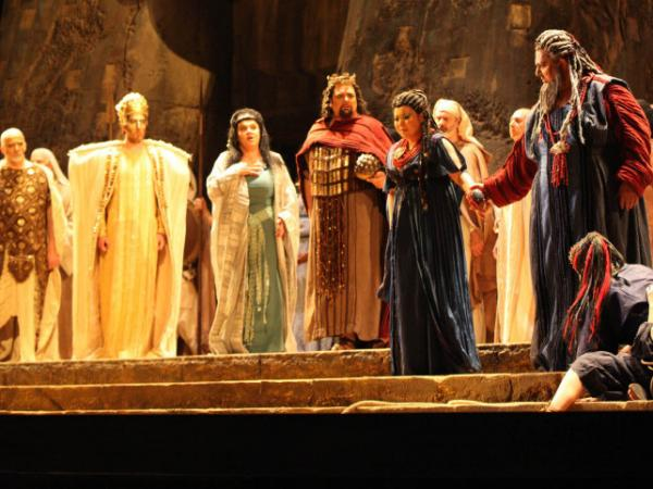 <em>Aida</em> at the Maggio Musicale Festival in Florence.