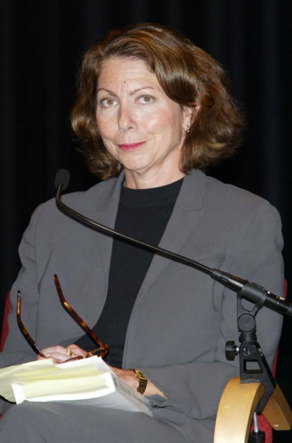 Jill Abramson, seen in 2003, will become the first woman to lead the <em>Times</em> newsroom.