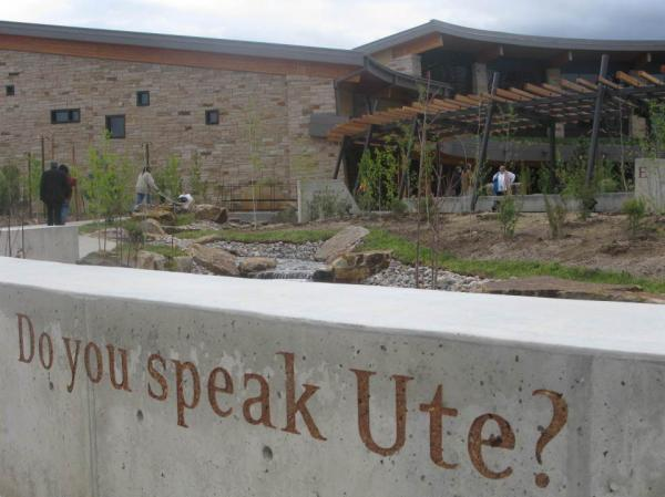 Construction on the Southern Ute Museum and Cultural Center began in August 2008.