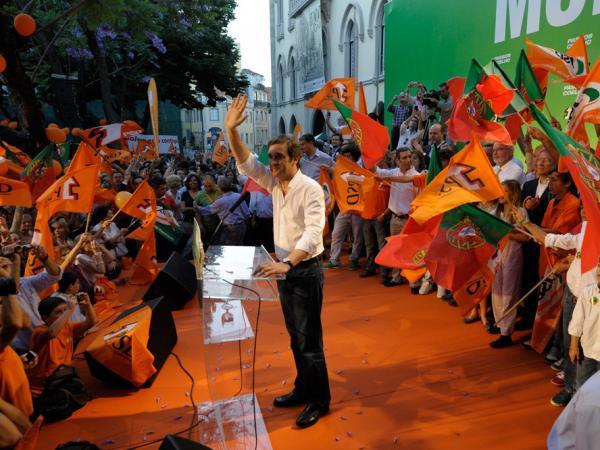 Portugal's new prime minister, Pedro Passos Coelho.
