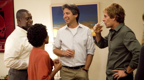 Andre Braugher, LisaGay Hamilton, Ray Romano and Scott Bakula star on TNT's <em>Men Of A Certain Age</em>.