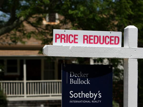 A realtor sign advertises a reduced price in front of a home for sale May 27, 2009 in San Anselmo, California. In today's 2nd hour, we'll talk about the state of the housing market and what it means for the economy at large.