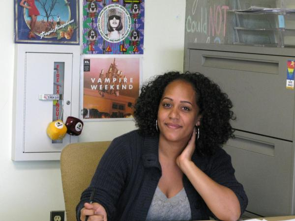 Teacher Rohya  Prudhomme has gotten a pink slip from the  Los Angeles school district. Despite good reviews, Prudhomme is one of many teachers who regularly  receives layoff notices, making it hard to plan for the future.