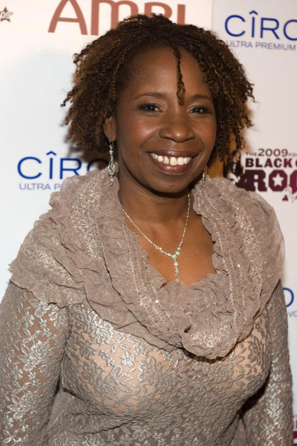 Iyanla Vanzant arrives at the 4th Annual Black Girls Rock! Awards in New York, October 17, 2009.