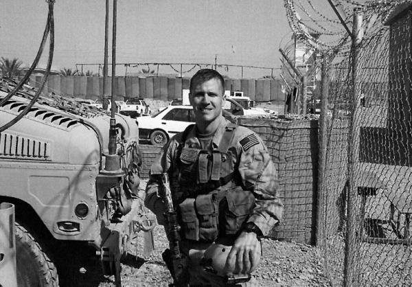 Eric Greitens in Fallujah. After he returned from Iraq, Greitens founded the nonprofit group The Mission Continues. He is author of the new book<em> The Heart and the Fist.</em>
