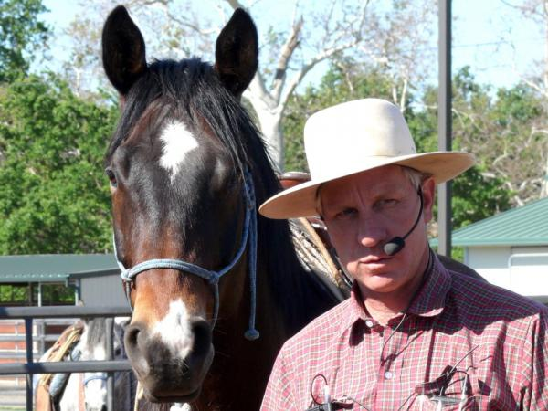 Brannaman travels around the country 40 weeks out of the year hosting four-day horse clinics.
