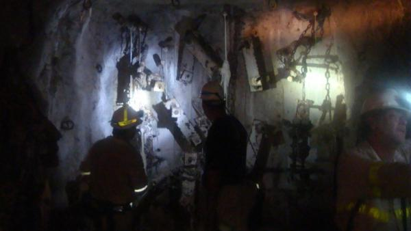 Working in the gloom and heat of a deep South African mine, scientists search for life.