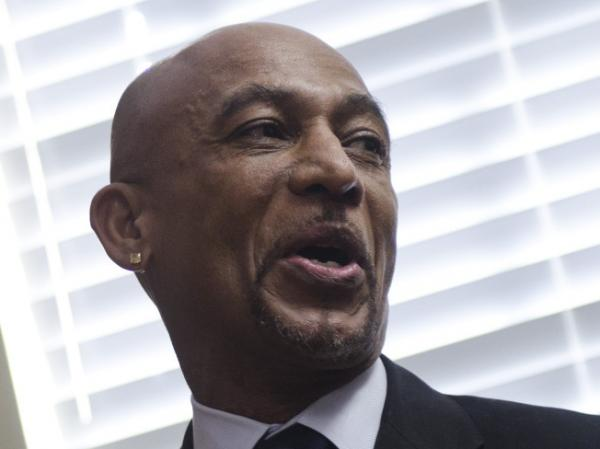 Montel Williams speaks during a news conference in Annapolis, Md., in early 2011 to support legislation to legalize medical marijuana in Maryland.