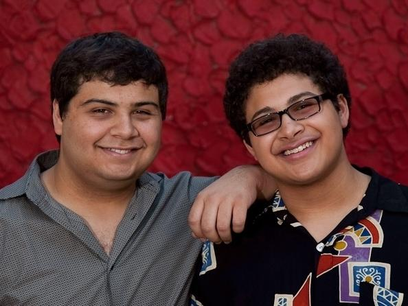 Arturo O'Farrill's sons, Zack and Adam.