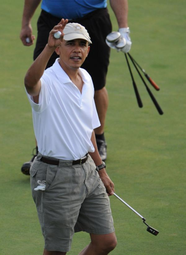 "President Obama will be joined by House Speaker John Boehner for 18 holes on Saturday, in a much anticipated ""golf summit."""