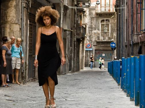 <em>Passione </em>hails Naples as a cultural playground for artists like M'Barka Ben Taleb, a Tunisian singer who combines Arab and Neapolitan influences.