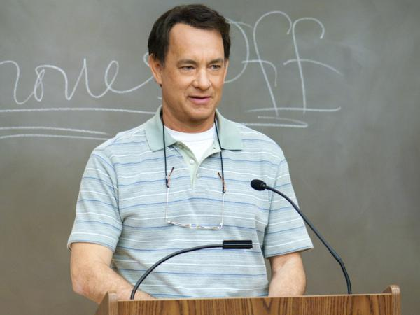 <strong>Back To School: </strong>Tom Hanks plays a middle-aged man who reinvents himself by enrolling at his local college after he loses his longtime job at a big-box company.<em></em>