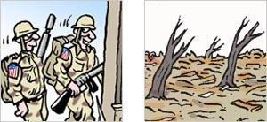 Cartoon promo