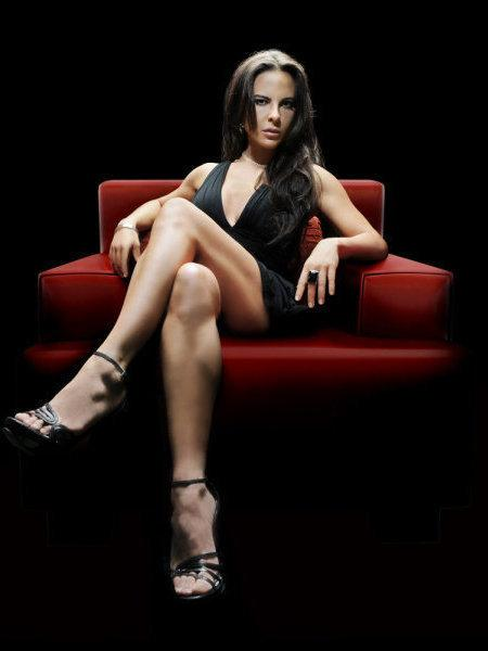 Actress Kate del Castillo in a publicity still for the Telemundo hit <em>La Reina del Sur. </em>The Spanish-language network is promoting the show for a Daytime Emmy nomination.