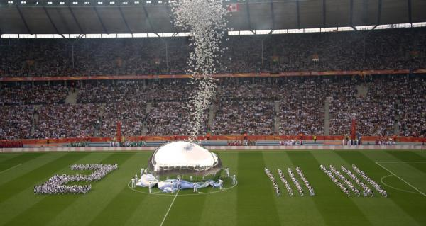 <strong>Sponsored By Jiffy Pop?</strong> Football balloons are released during the opening ceremony of the 2011 FIFA women's soccer World Cup, at Berlin's Olympic Stadium on June 26.