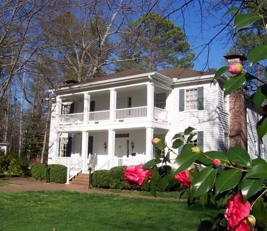 The Stately Oaks plantation house in Jonesboro, Ga., was preserved as an example of an antebellum home. It's about as close as you can get to the movie version of Tara; Mitchell based the novel's Tara on her grandparents' country home.