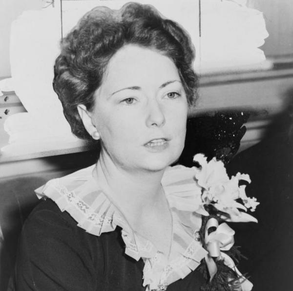 "Margaret Mitchell, pictured above in 1941, started writing<em> </em>while recovering from an ankle injury in 1926. She had read her way through most of Atlanta's Carnegie Library, so her husband brought home a typewriter and said: ""Write your own book to amuse yourself."" The result was <em>Gone with the Wind.</em>"