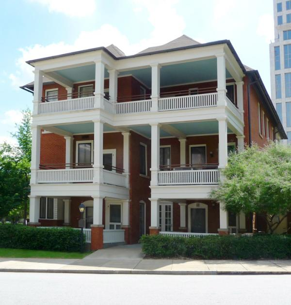 "Mitchell wrote <em>Gone with the Wind </em>in a tiny, ground-floor apartment in Atlanta which she liked to call ""The Dump."" Mitchell and her husband John Marsh moved into the apartment on their wedding day, July 4, 1925."