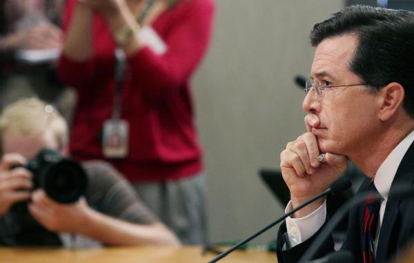 """We don't know what we're going to do with the ads ... because we don't have the PAC yet,"" Colbert told FEC commissioners Thursday."