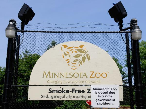 The Minnesota Zoo? Closed.