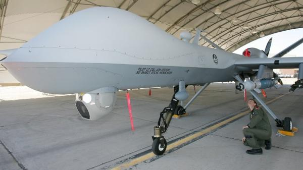 2007 file photo of a U.S. Air Force MQ-9 Reaper drone.