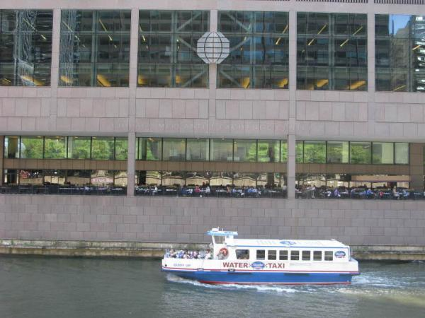 Some of the biggest corporate headquarters in the country are located along the Chicago River.