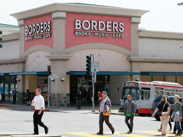 Borders Group Inc., the nation's second largest bookstore chain, announced that it will liquidate the company.