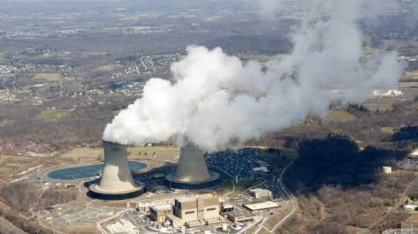 The U.S. Nuclear Regulatory Commission says American nuclear plants need to be better prepared for the sudden and continued loss of electric power. Above, the Limerick Generating Station, a nuclear power plant in Pottstown, Penn.