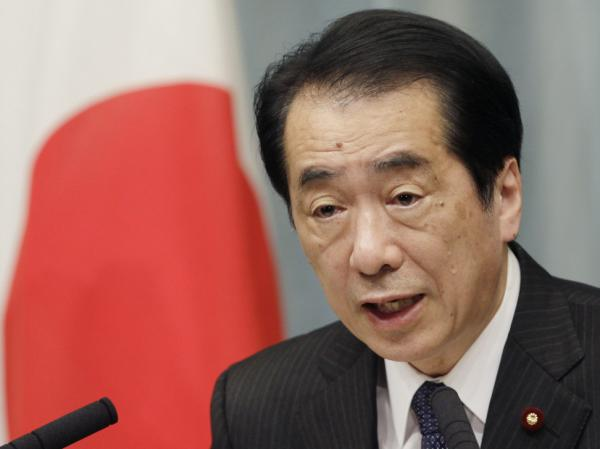 Japanese Prime Minister Naoto Kan speaks during a news conference in Tokyo in May. The beleaguered leader is expected to step down in coming weeks.