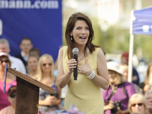 Republican presidential candidate Rep. Michele Bachmann, R-Minn., speaks in Charleston, S.C. in June. Bachmann suffers from chronic migraines but released a doctor's note last week stating she is in good health.