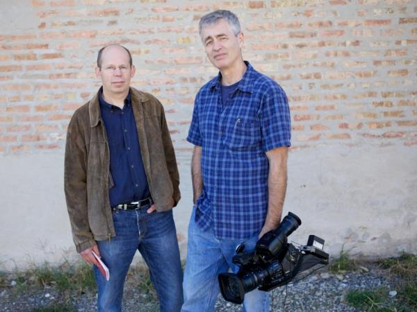 Alex Kotlowitz (left) is the author of <em>There Are No Children Here</em>, <em>The Other Side of the River</em> and <em>Never a City So Real. </em>Steve James is the director, producer and co-editor of <em>Hoop Dreams</em>. His other films include <em>Stevie</em> and <em>At the Death House Door.</em>