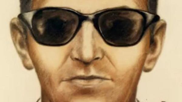 An undated FBI sketch of D.B. Cooper.