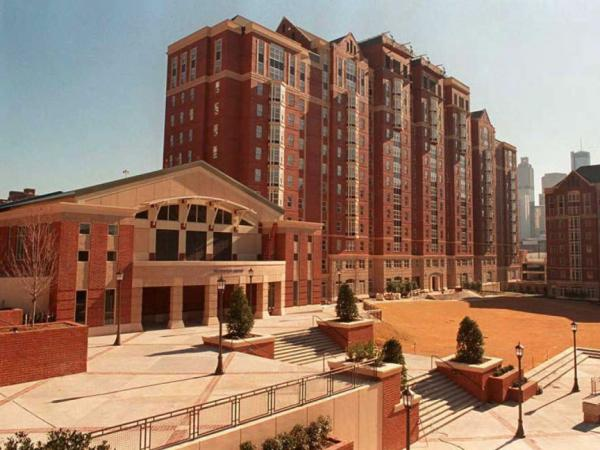 This Olympic Village housing for athletes taking part in the 1996 Centennial Olympics is located on the campus of the  Georgia Institute of Technology.