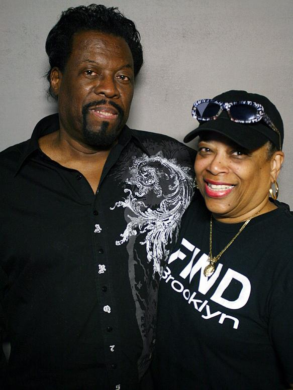 "James ""Jay"" McKnight and his wife, Andrea, at a recent visit to StoryCorps in New York City."