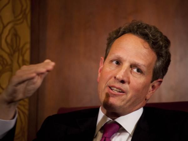 Treasury Secretary Timothy Geithner.