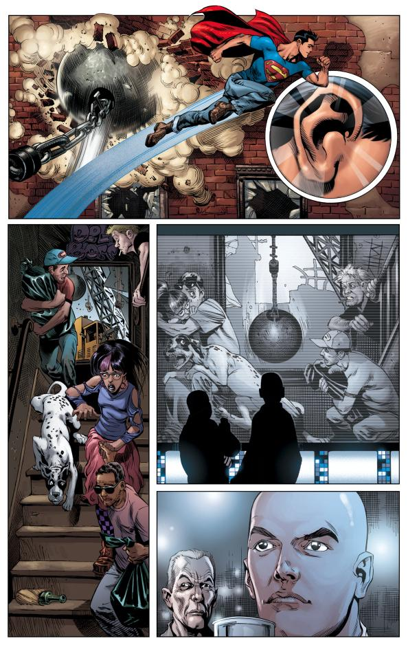 """After the release of <em>Action Comics #904</em> in late August, DC Comics will reboot the 73-year series. An exclusive image from the <a href=""""http://www.dccomics.com/dcu/comics/?cm=20068"""">upcoming</a> <em>Action Comics #1</em> — written by Grant Morrison and illustrated by Rags Morales and Rick Bryant — is featured above."""