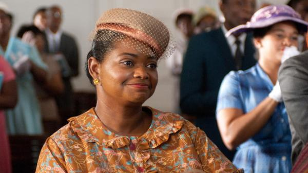 "If the audience is uncomfortable watching <em>The Help, </em>that's appropriate, says actress Octavia Spencer: ""People <em>lived </em>this discomfort."" Spencer plays Minny Jackson — an African-American maid in 1960s Mississippi — in the film adaptation of Kathryn Stockett's controversial novel."