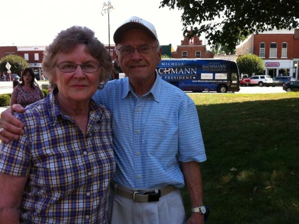 Jose and Evelyn Vega in Pella, Iowa.