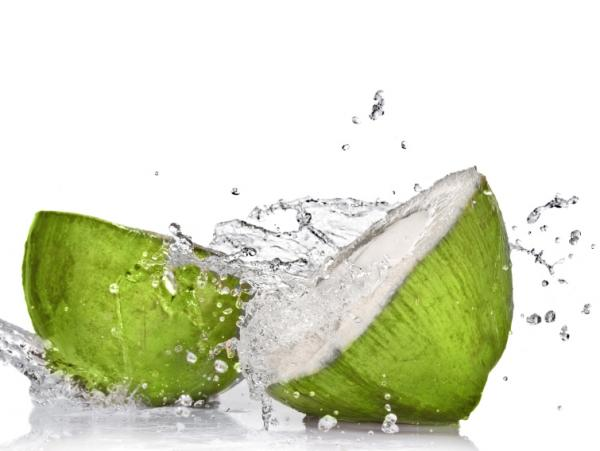 Coconut water may not be the ideal replacement fluid if you're dehydrated.