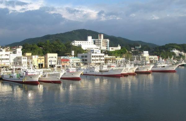 Most of Kesennuma's large fishing boats either survived the tsunami or have been repaired. But many do not move from the dock, because most of the city's fish-processing factories still lie in ruins.