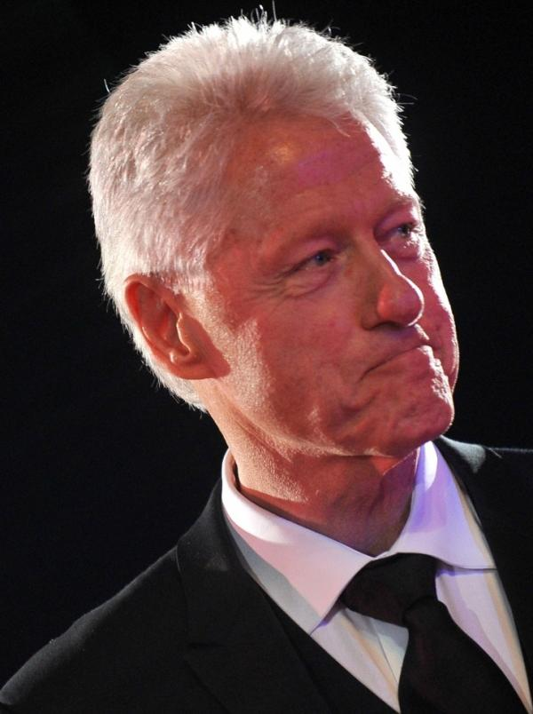 Looking fit: Former President Bill Clinton, seen here in May, has lost more than 20 pounds since going vegan.