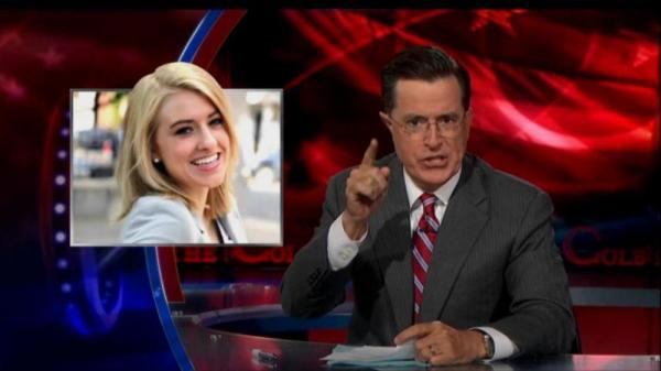 Katie Eastman's first appearance on <em>The Colbert Report </em>wasn't her last.