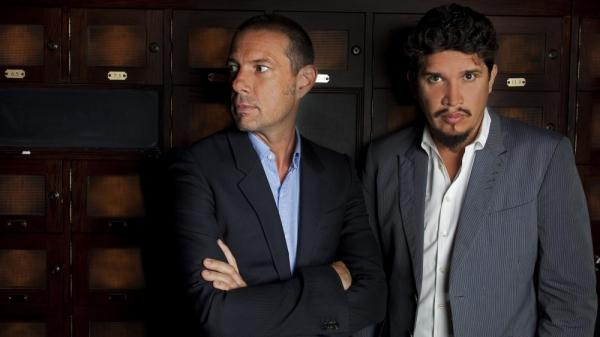 Eric Hilton and Rob Garza have been recording and performing as Thievery Corporation since the mid-1990s. Their newest album is called <em>Culture of Fear</em>.
